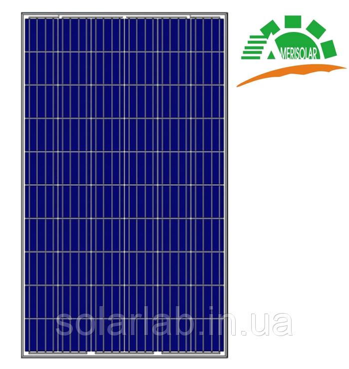 Солнечная панель Amerisolar AS-6P30-285W, 5BB, Poly, 1000V, рама 35мм