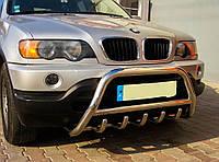 Передня захист (кенгурятник, дуги) BMW X-5 1999-2006