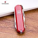 Нож складной, мультитул Victorinox RALLY (58мм, 9 функций), красный 0.6163, фото 4