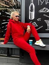 """Женский спортивный костюм """"Madis"""" с карманом-кенгуру и капюшоном (3 цвета), фото 3"""
