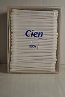 Ватные палочки Сien Cotton Buds, 300 шт, Франция,