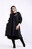 Женское платье черное А-силуэта,  с 42 по 74  размер
