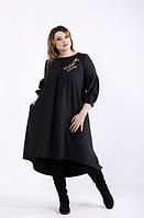 Женское платье черное А-силуэта,  с 42 по 74  размер, фото 1