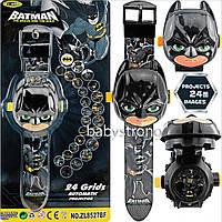 Проекционные детские часы Бетмен - Batman - 24 вида изображения героев .Projector Watch. Отличный Подарок !