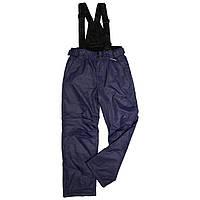 Детский зимний полукомбинезон термо-штаны Disumer (Snowest) синие