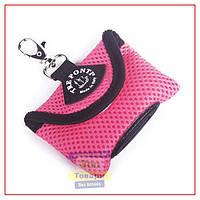 Сумка Tre Ponti Dog Poop Bag с пакетами для фекалий,розовый (Tre Ponti)