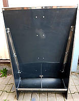 Бункерная кормушка для свиней на 2 секции