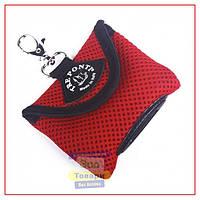 Сумка Tre Ponti Dog Poop Bag с пакетами для фекалий,красный (Tre Ponti)