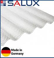 Прозрачный ПВХ лист Salux Prizma Прозрачная Волна 76/18 2,0х1,03, фото 1