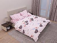 """Постельное белье полуторное 150х220 (12914) хлопок """"Ранфорс"""" KRISPOL Украина, фото 1"""