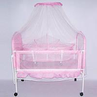 Tilly 9352-002 кроватка металлическая с люлькой