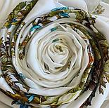 10876-0 (Піони), павлопосадский хустку з віскози з подрубкой, фото 8
