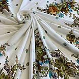 10876-0 (Піони), павлопосадский хустку з віскози з подрубкой, фото 5