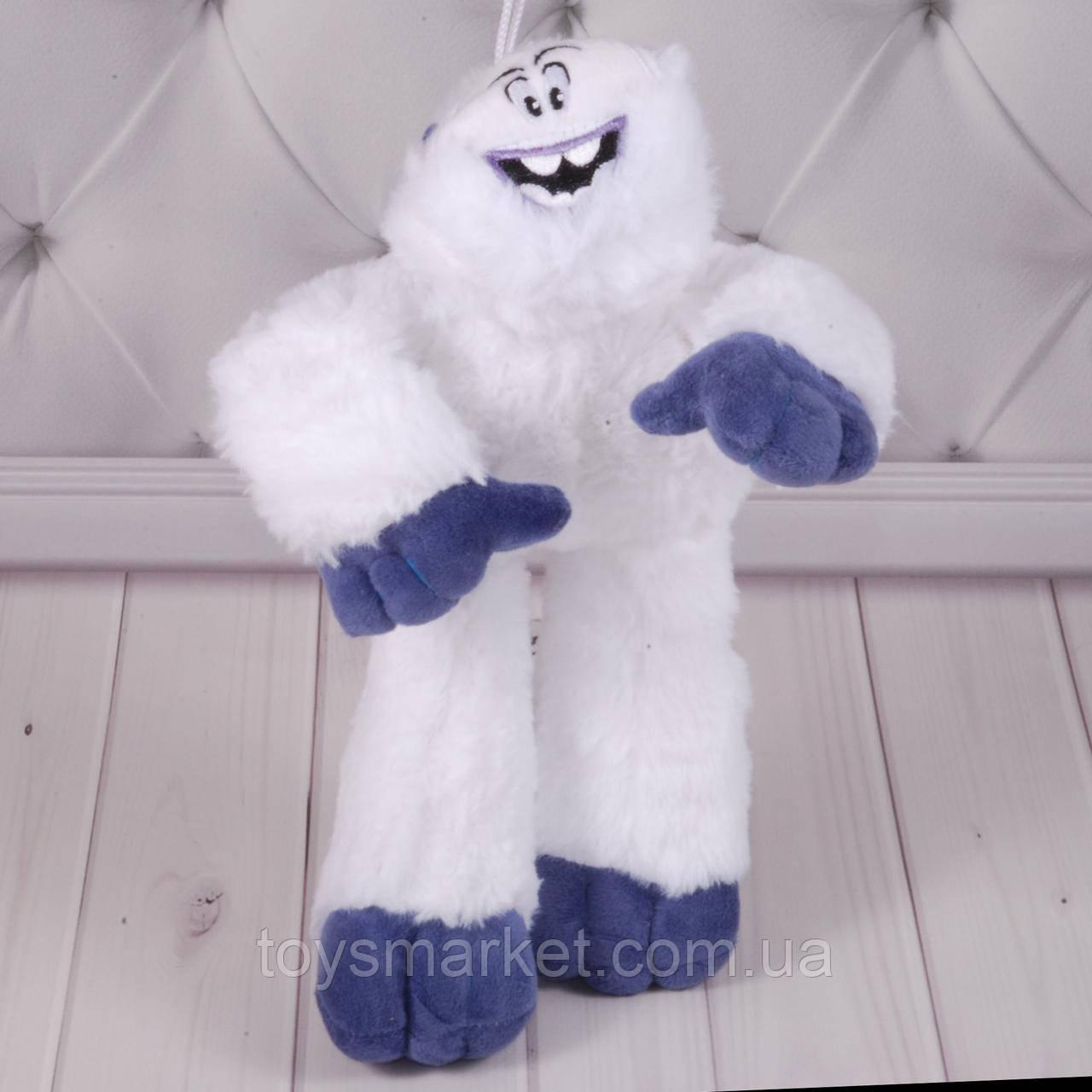 """Мягкая игрушка йети Миго, плюшевый снежный человек Migo, игрушки из """"Смолфут"""", """"SmallFoot"""""""