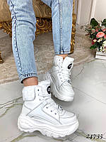 Зимние ботинки подошва Buffalo