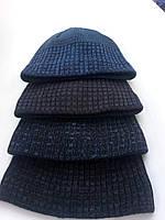 Красивая мужская шапка с необычным рисунком.Разные цвета