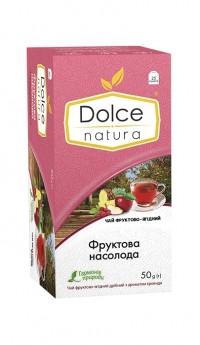 """Чай фруктово-ягідний з ароматом троянди """"Фруктове Насолоду"""" 50 р. (25*2г)"""