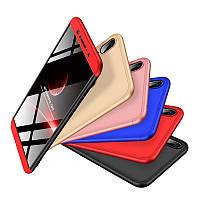 Пластиковый чехол GKK LikGus 360 градусов для Asus Zenfone Max Pro M1 (ZB601KL / ZB602KL) (выбор цвета)