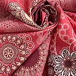10824-6, павлопосадский платок на голову хлопковый (саржа) с подрубкой, фото 4