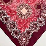 10824-6, павлопосадский платок на голову хлопковый (саржа) с подрубкой, фото 3