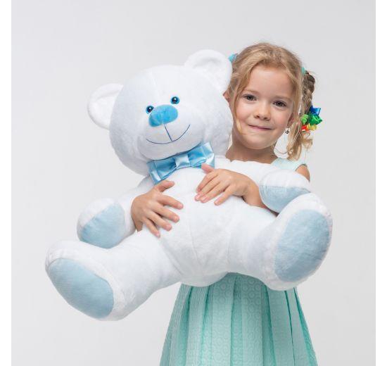 Mini Medved сидячий белый  (70 см)