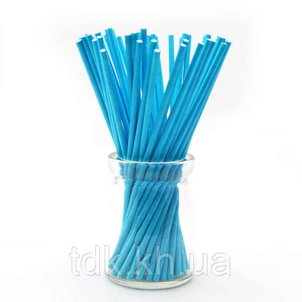 Палочки для кейк-попсов Синие 50шт