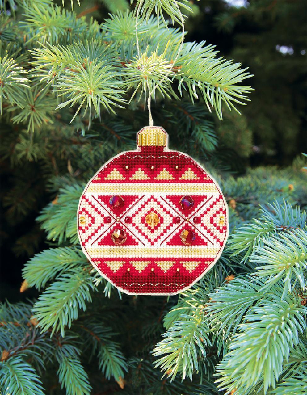 """Набор для вышивания крестом Crystal Art Серия """"Счастливого Рождества"""""""