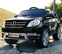 Детский электромобиль M 3568 EBLR-2 Mercedes, мягкое сиденье, черный