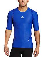 Мужское термо-компрессионное белье Adidas Techfit Powerweb SS
