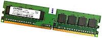 Оперативная память Elpida DDR2 1Gb 800MHz PC2 6400U CL6 1R8 (EBE10UE8ACFA-8G-E) Б/У, фото 1
