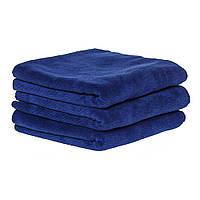 Полотенце 45*95см из микрофибры 400 г/м2 для салонов красоты, темно-синее