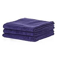 Полотенце 45*95см из микрофибры 400 г/м2 для салонов красоты, темно-фиолетовое