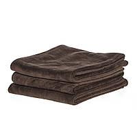 Полотенце 45*95см из микрофибры 400 г/м2 для салонов красоты, коричневое