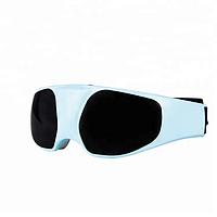 Массажные очки SUNROZ Massage Glasses для глаз Голубой, фото 1