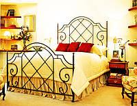 Кровати двуспальные кованые