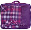 Дорожный органайзер (сумочки в чемодан) 5 шт ORGANIZE (фиолетовый), фото 8