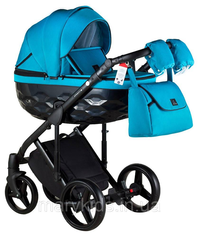 Детская универсальная коляска 2 в 1 Adamex Chantal C212