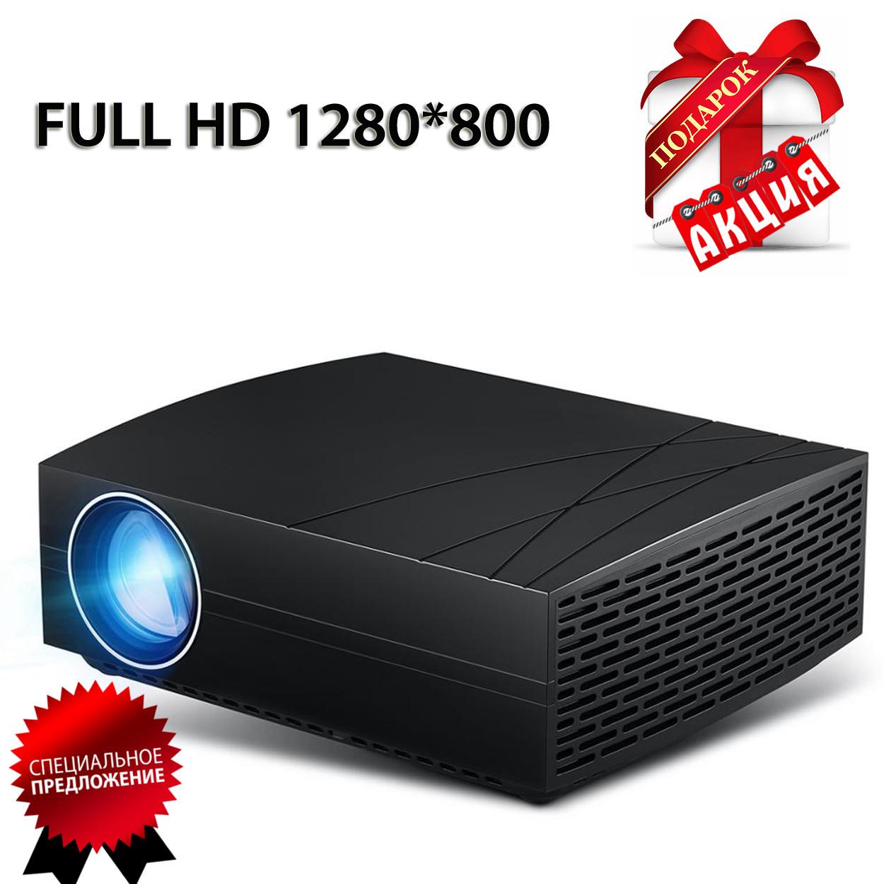 Проектор мультимедийный Wi-Fi улучшенная линза кинопроектор Vivibright Wi-light F20 проектор для дома
