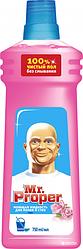 Моющая жидкость для полов и стен MR PROPER Роза 750 мл
