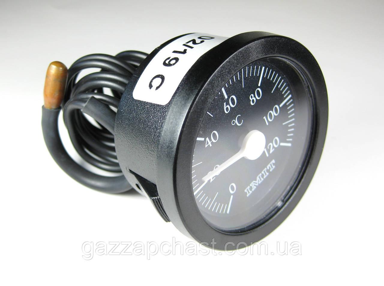 Термометр круглый капиллярный Ø 52 мм, 0-120ºС, IMIT - Италия, 010236