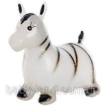 Прыгун ослик - зебра арт. 0002