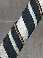 Пришивная резинка 35 мм черная микс