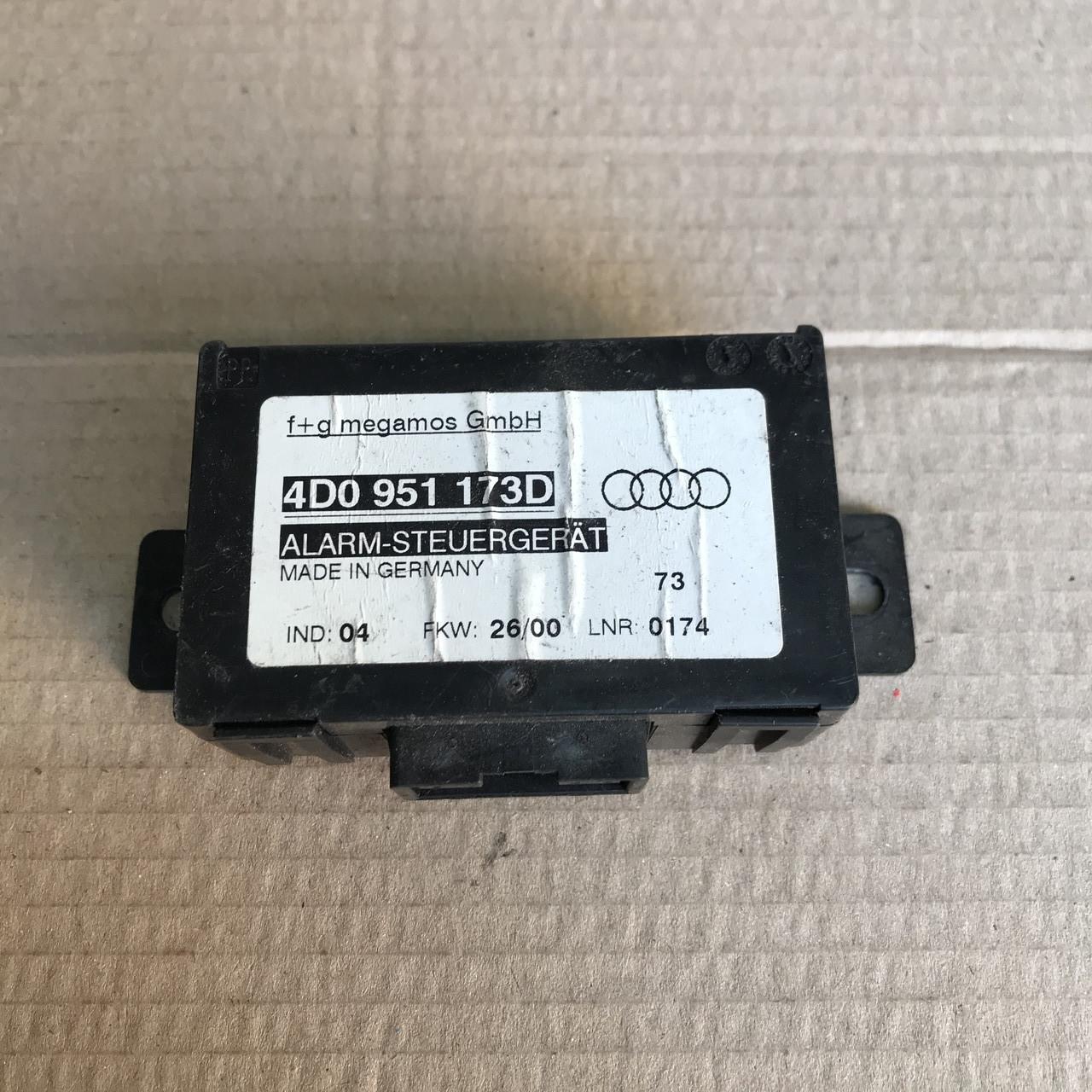 4D0951173D Блок управління датчиком руху на Audi / Vw