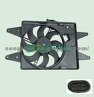 Дифузор с одним вентелятором 1.3MJTD-1.9JTD Doblo 2000-2005 51738799