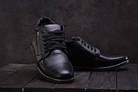 Ботинки мужские Vankristi 940 черные (натуральная кожа, зима), фото 1