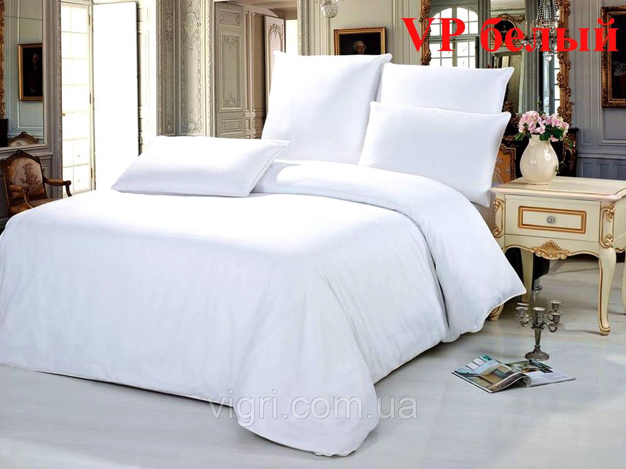 Постельное белье, двухспальное, ранфорс Вилюта «VILUTA» VР белый