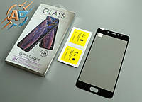 Защитное стекло 5D для Meizu M5 note черное