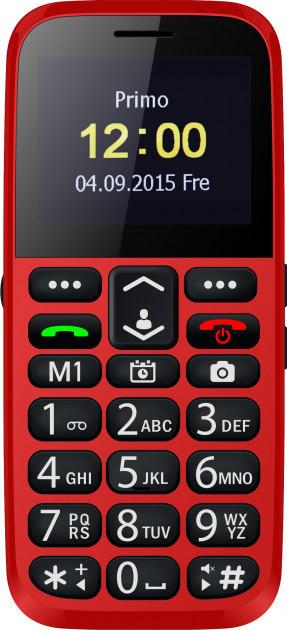 Мобильный телефон Bravis C220 Adult Dual Sim Red Гарантия 12 месяцев