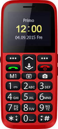 Мобильный телефон Bravis C220 Adult Dual Sim Red Гарантия 12 месяцев, фото 2