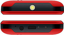 Мобильный телефон Bravis C220 Adult Dual Sim Red Гарантия 12 месяцев, фото 3
